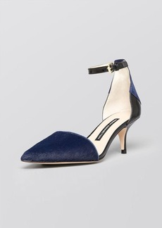 FRENCH CONNECTION Pointed Toe Pumps - Enora Kitten Heel