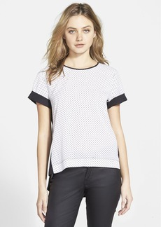 French Connection 'Polly Plains' Polka Dot Top (Online Only)