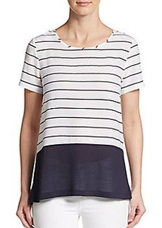 French Connection Polly Striped Top