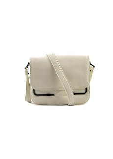 French Connection Prim Lady Button Shoulder Bag,White,One Size