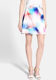 French Connection Print A-Line Skirt