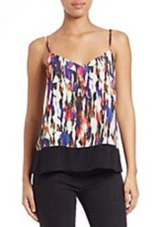 FRENCH CONNECTION Printed Contrast-Hem Cami
