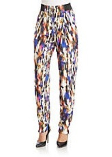 FRENCH CONNECTION Printed Drape Pants