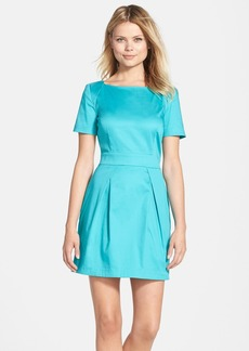 French Connection 'Richie' Cotton Blend Fit & Flare Dress