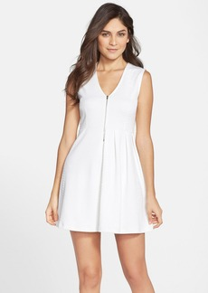 French Connection 'Rocky Mountain' Stretch Fit & Flare Dress