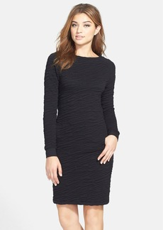 French Connection 'Rocky Road' Textured Knit Sheath Dress