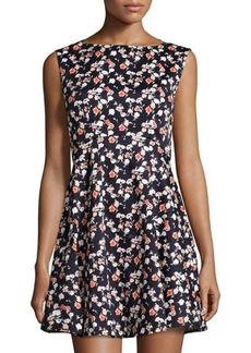 French Connection Sahara Rose Floral-Print Dress
