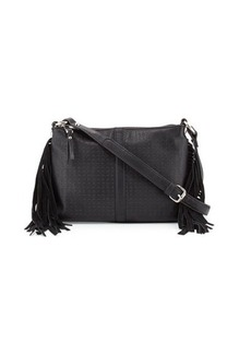 French Connection Sammy Suede-Fringe Crossbody Bag