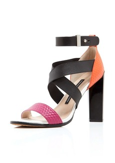 FRENCH CONNECTION Sandals - Melody Multicolored High Heel