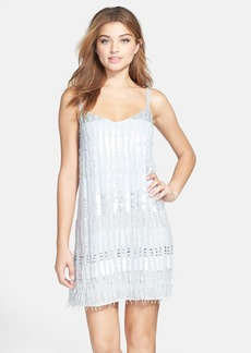 French Connection 'Siberian' Beaded Fringed Shift Dress