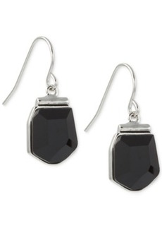 French Connection Silver-Tone Stone Drop Earrings