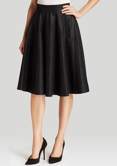 FRENCH CONNECTION Skirt - Faux Leather Flared