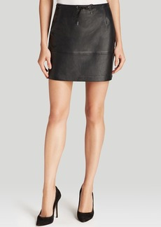 FRENCH CONNECTION Skirt - Luxe Leather