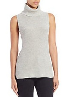 FRENCH CONNECTION Sleeveless Knit Turtleneck Top