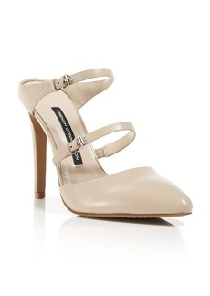 FRENCH CONNECTION Slide Pumps - Mandalay Two Buckle