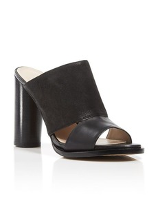 FRENCH CONNECTION Slide Sandals - Ursie High Heel Mule