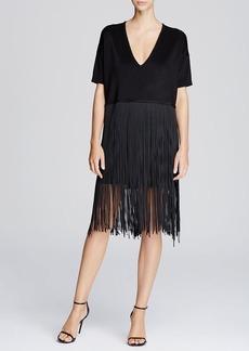 FRENCH CONNECTION Spotlight Fringe Dress