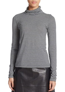 FRENCH CONNECTION Starzy Stripe Turtleneck