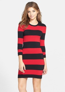 French Connection Stripe Sweater Dress