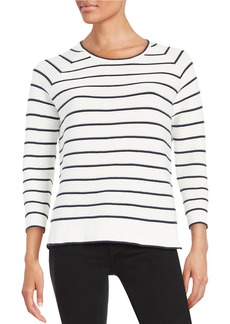 FRENCH CONNECTION Striped Cotton Sweater