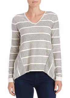 FRENCH CONNECTION Striped Loose Fit Sweater
