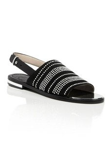 FRENCH CONNECTION Studded Ankle Strap Sandals - Happy