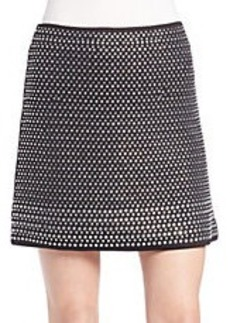 FRENCH CONNECTION Studded Mini Skirt