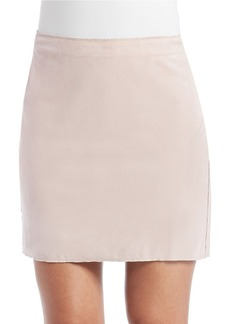 FRENCH CONNECTION Suede Mini Skirt