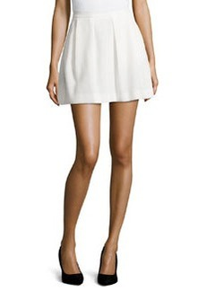 French Connection Sunshine Walk Flared Skirt, White