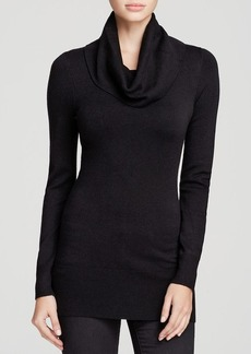 FRENCH CONNECTION Sweater - Bambi Solid Tunic Cowl