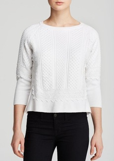 FRENCH CONNECTION Sweater - Edith Lace Knits