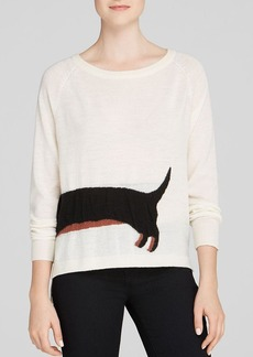 FRENCH CONNECTION Sweater - Sausage Dog Knits