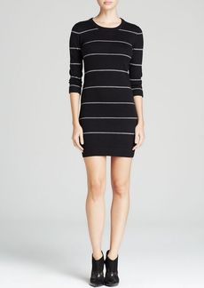 FRENCH CONNECTION Sweater Dress - Fair Isle Stripe Knit