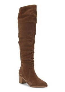 french connection Tan Clementina Over The Knee Boots