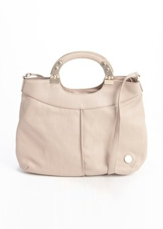 French Connection taupe faux leather shoulder bag