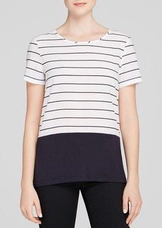 FRENCH CONNECTION Tee - Polly Plains Stripe