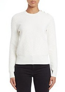 FRENCH CONNECTION Textured Knit Sweater