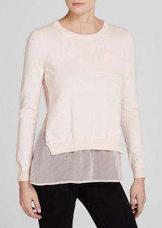 FRENCH CONNECTION Top - Cara Chiffon Knits