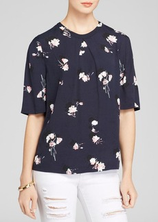 FRENCH CONNECTION Top - Romonov Posey Crepe