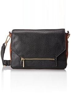 French Connection Tough Love Shoulder Bag,Black,One Size