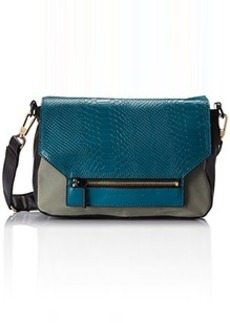 French Connection Tough Love Shoulder Bag,Jade,One Size