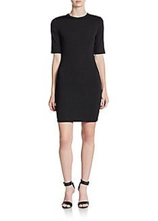 French Connection Track Stripe Sheath Dress