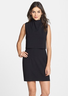 French Connection Turtleneck Sleeveless Popover Dress