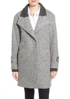 French Connection Tweed Boyfriend Coat