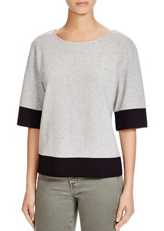 FRENCH CONNECTION Valentine Color Block Sweatshirt