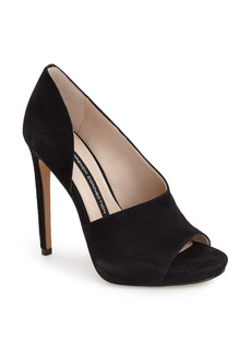 French Connection 'Velora' Peep Toe Platform Pump (Women)