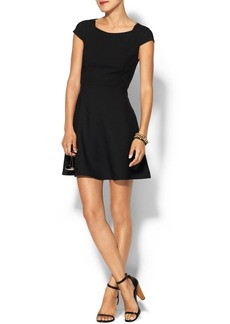 French Connection Whisper Ruth Cap Sleeve Dress