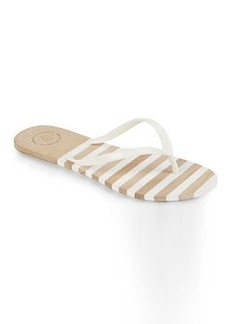 french connection White Filipa Flip Flops