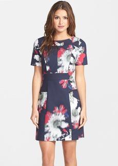 French Connection 'Wilderness' Floral Cutout Sheath Dress