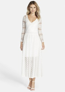 French Connection 'Wings' Lace Maxi Dress